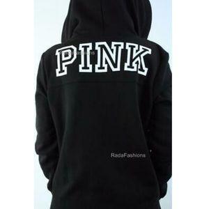 Victoria's Secret PINK Half Zip Mock Neck Pullover